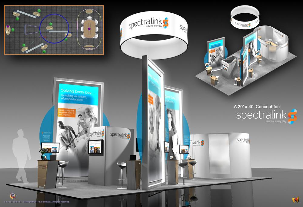Typical 2D presentation composite.
