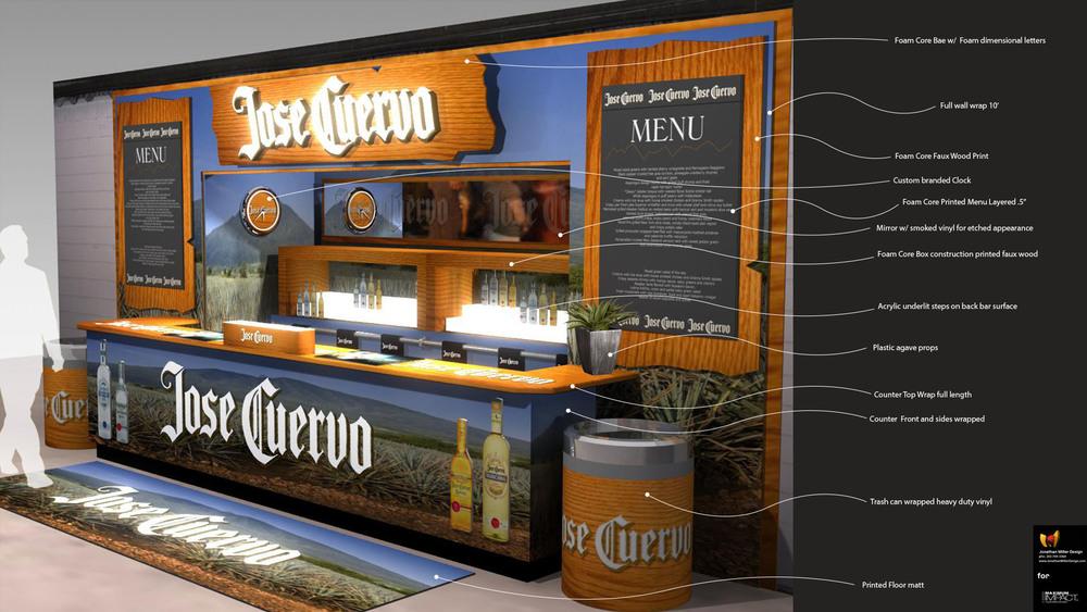 JMD Bar Branding