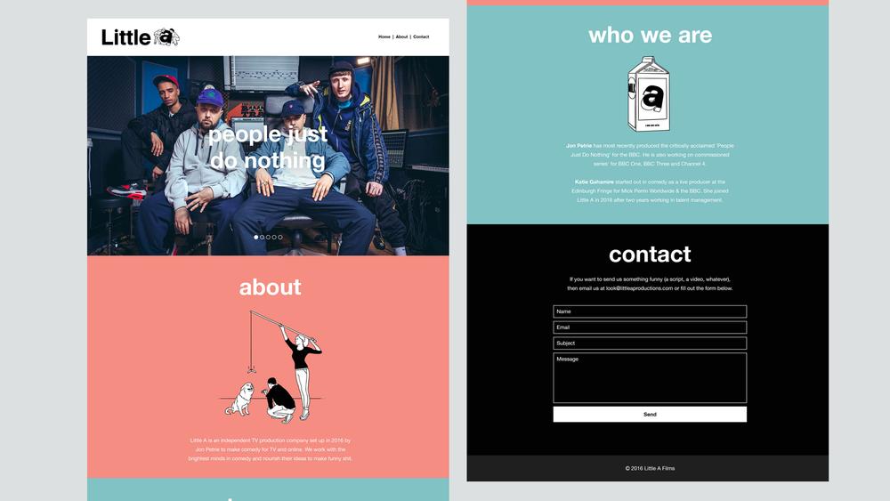Website in full