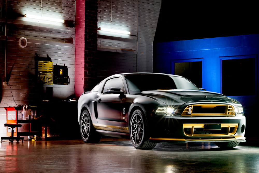 Light Painting - Ford Mustang Shelby GT500