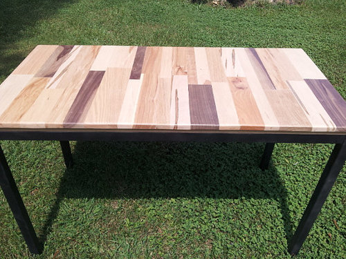 Flat Pack Table Frame — Blue Ridge Metal Works