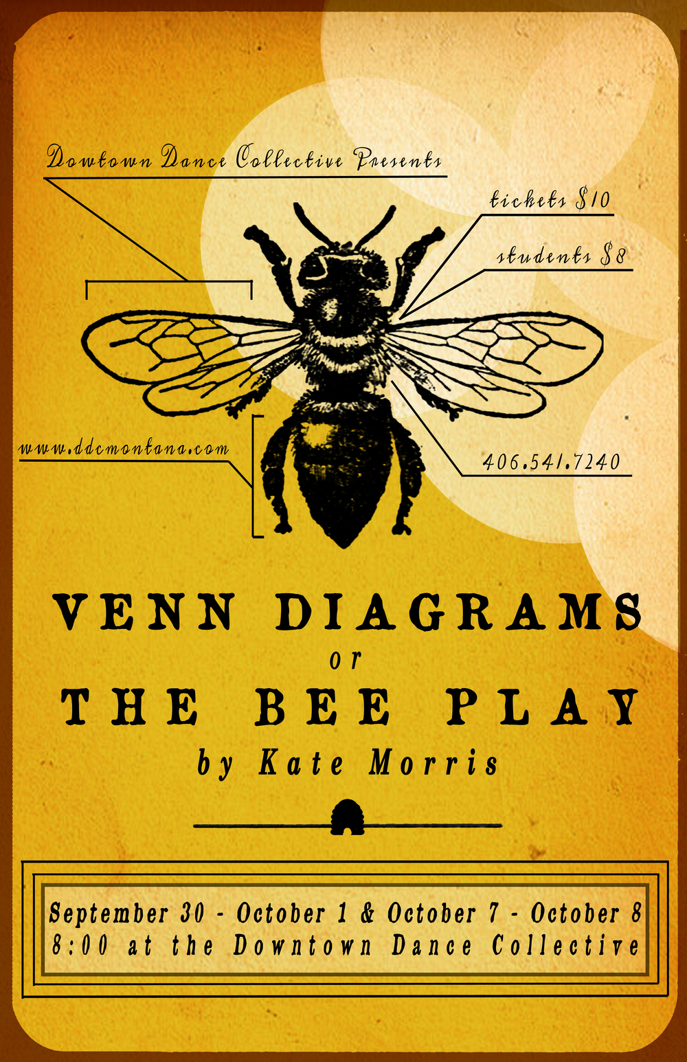 Venn Diagrams or The Bee Play