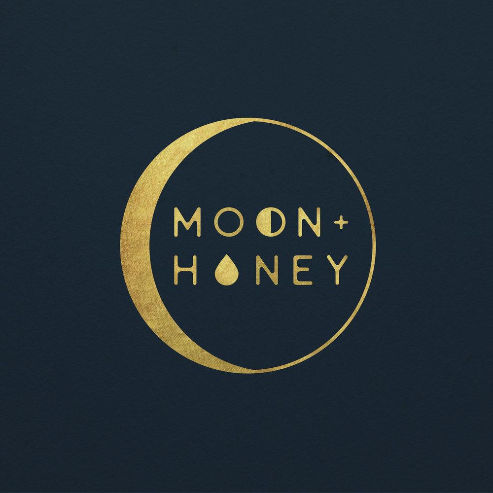 Moon + Honey Branding