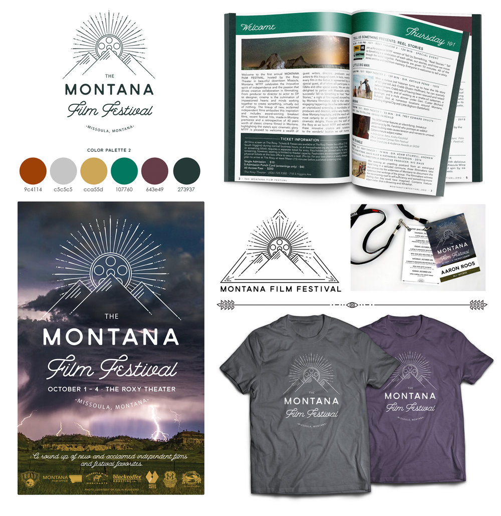 Branding for Montana Film Festival