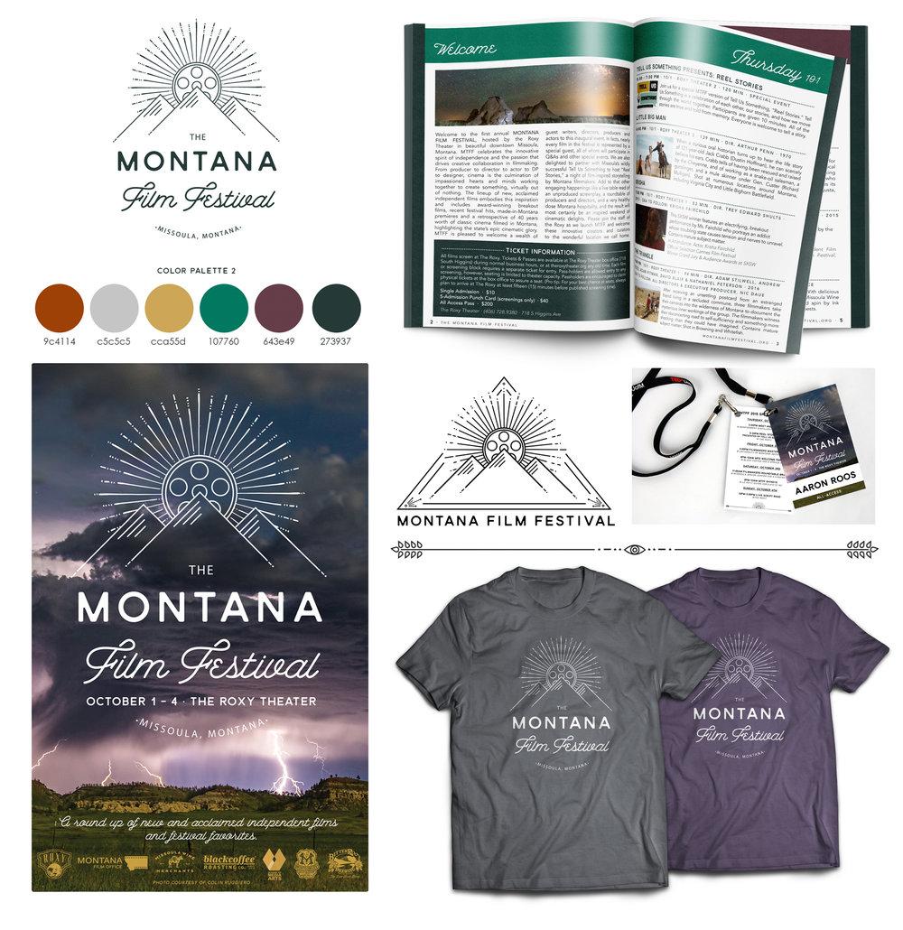 Montana Film Festival Branding + Identity Suite