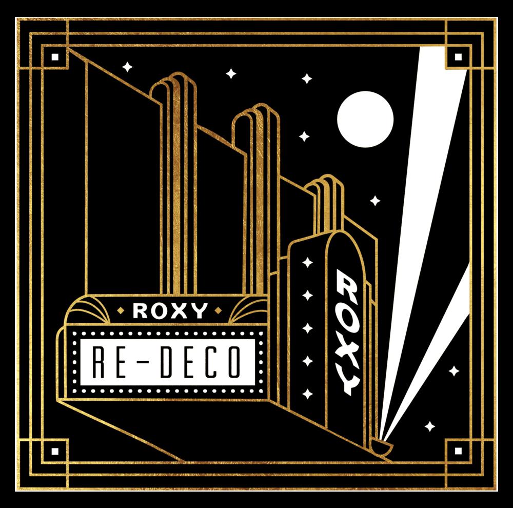 Roxy Re-Deco Branding