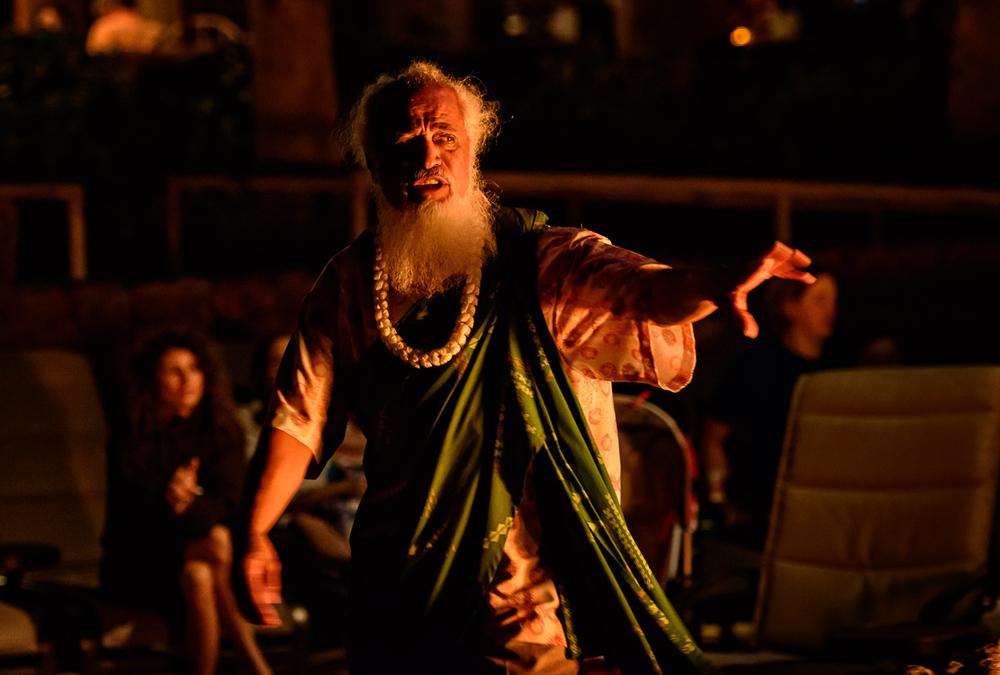 Hawaiian Story teller
