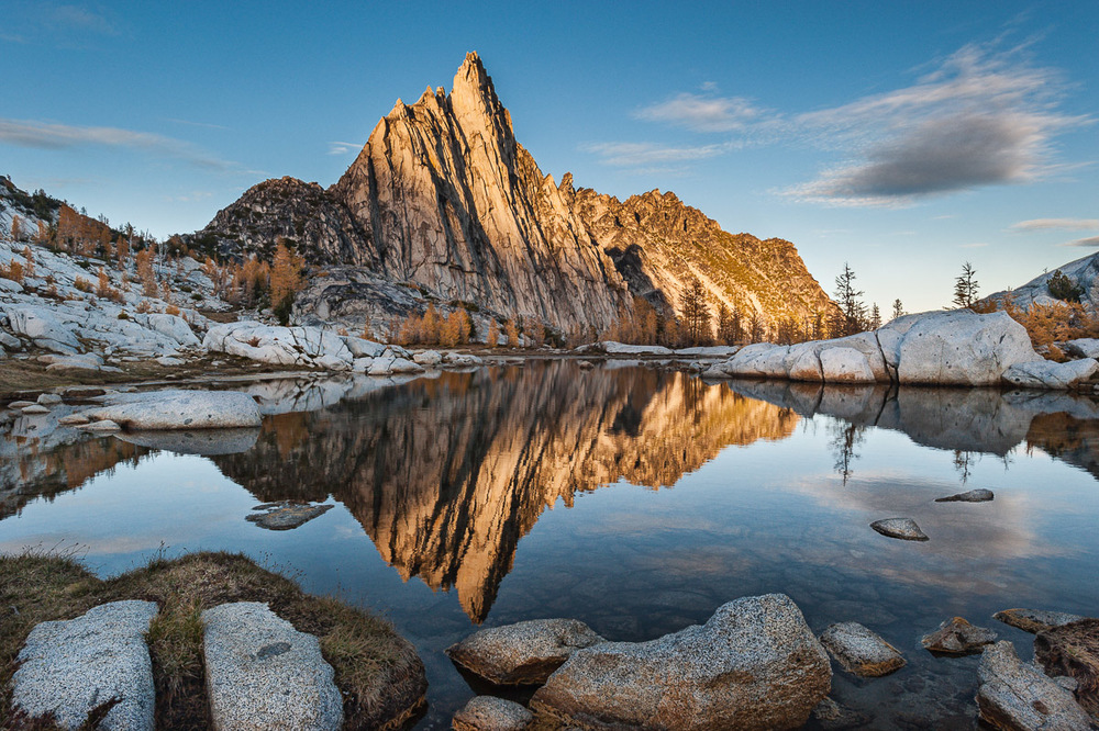 The North Cascades: Prusik Peak in The Enchantments Basin