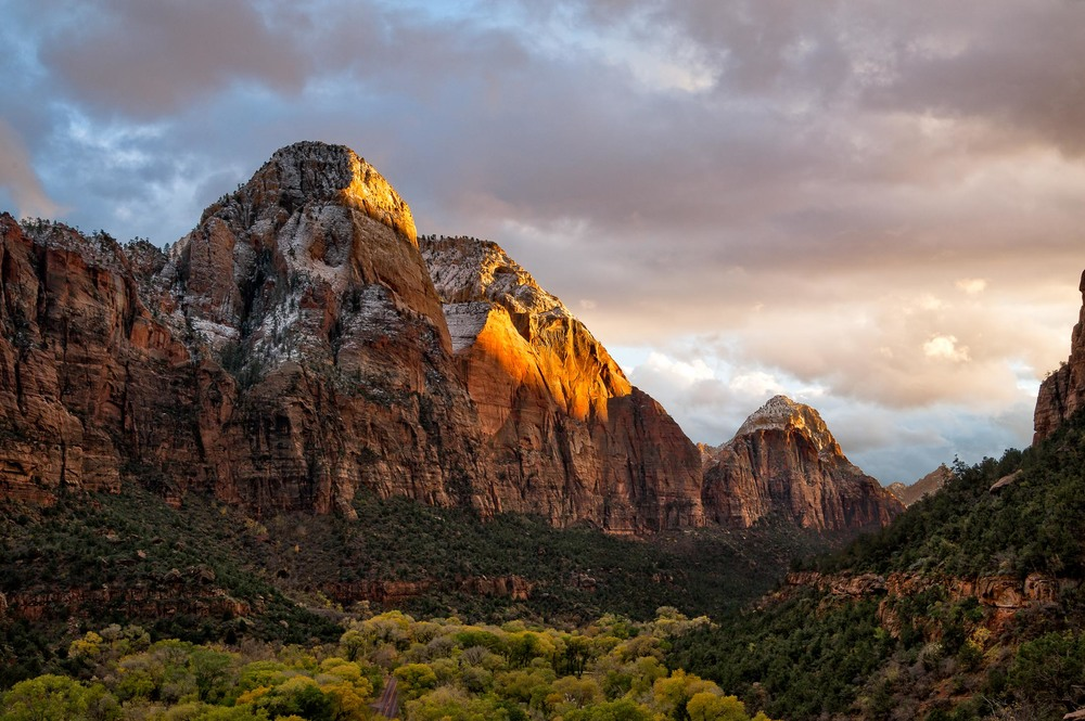 LAST LIGHT ON THE PATRIARCHS: ZION