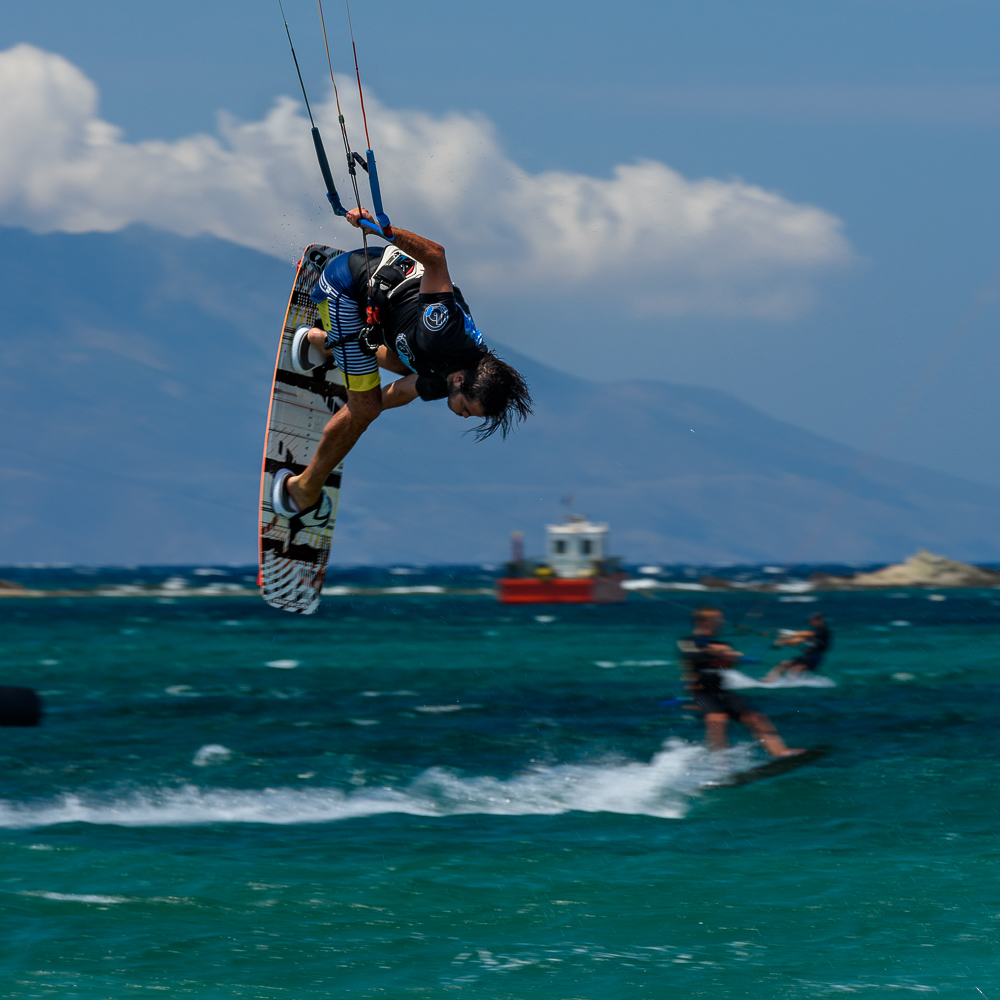 Kiteboarding Greece