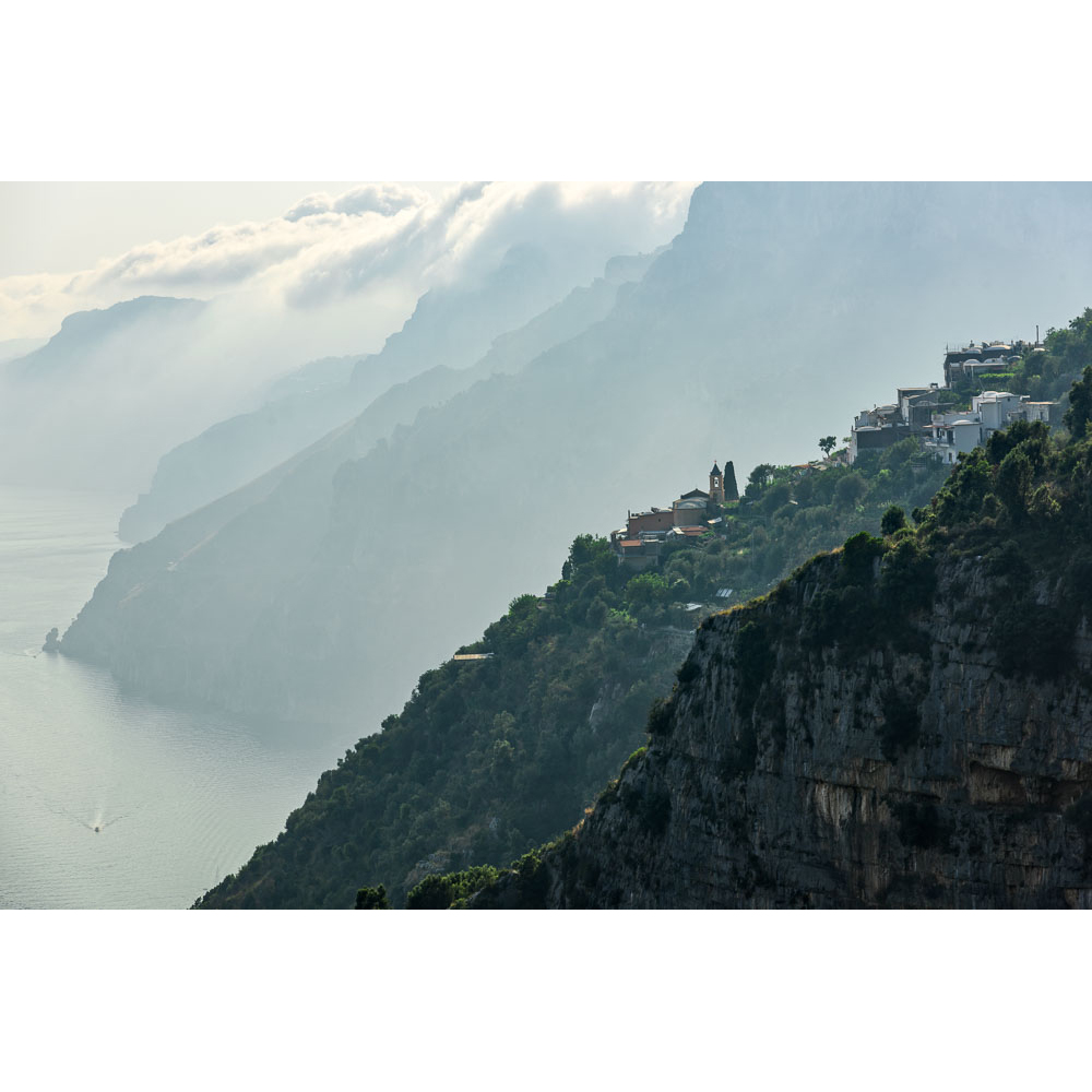 The spectacular Amalfi Coast