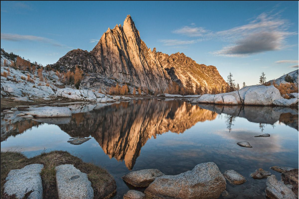 24x36 inch print donation of the Enchantments