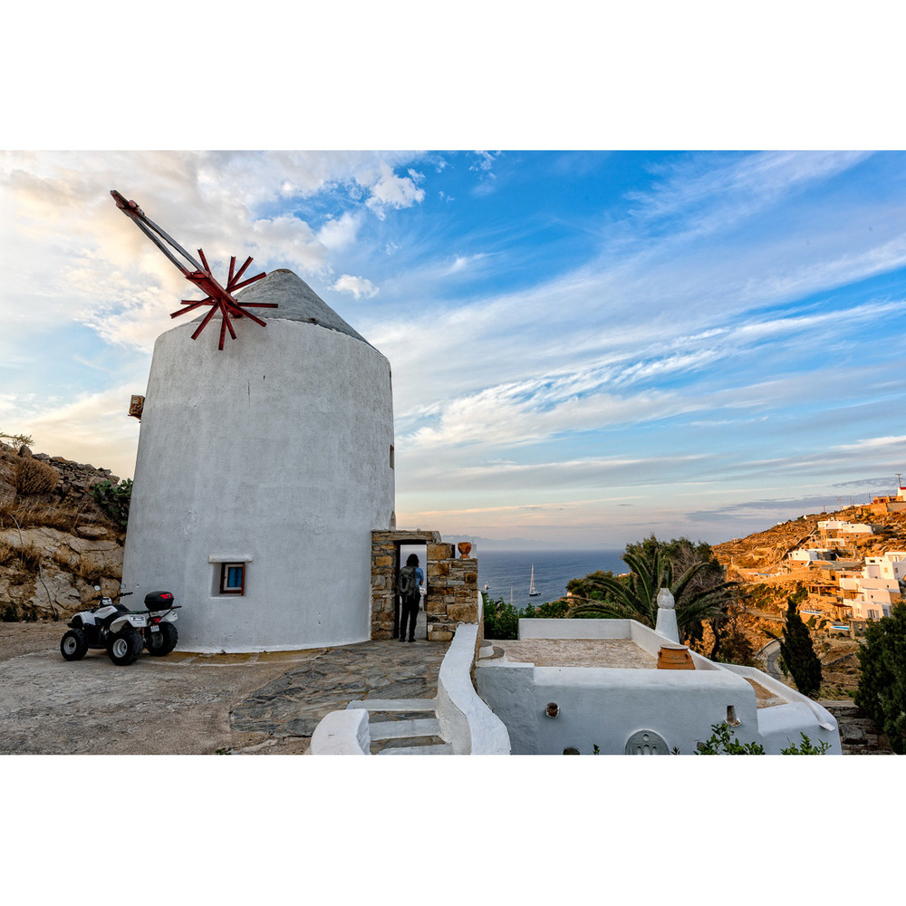 Our Windmill in Mykonos, Greece