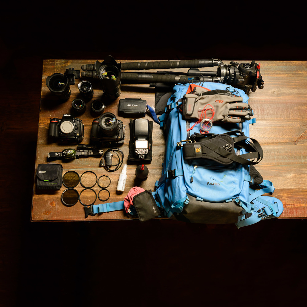 The adventure kit.