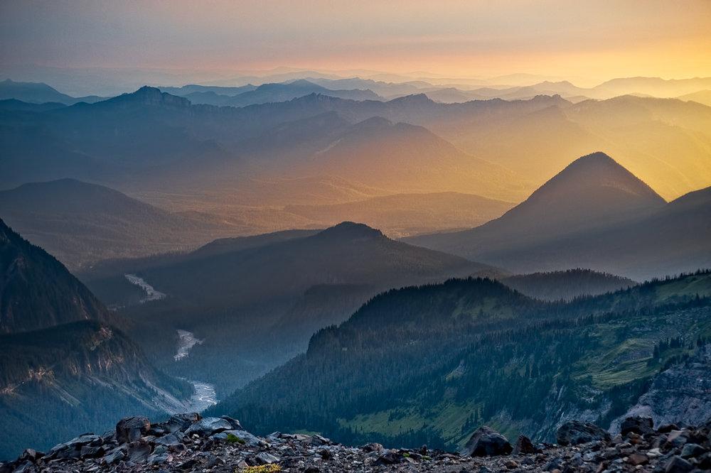 Ridges Below