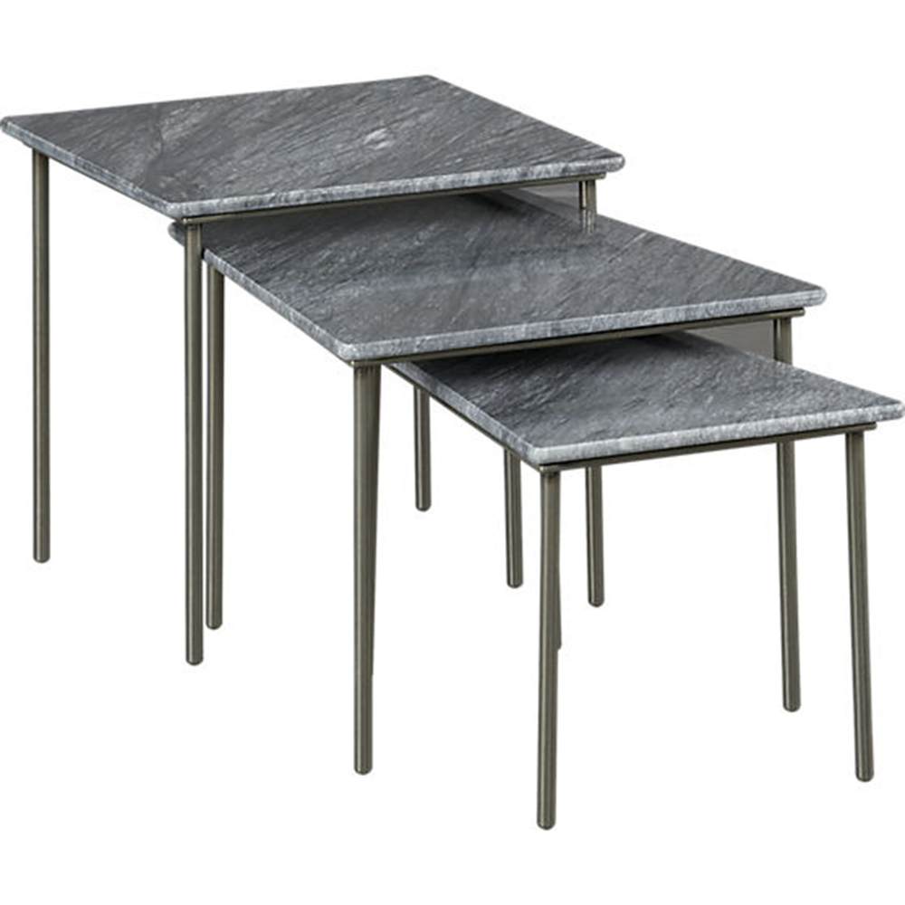 Geo Tables CB STUDIO WARM - Cb2 stone table