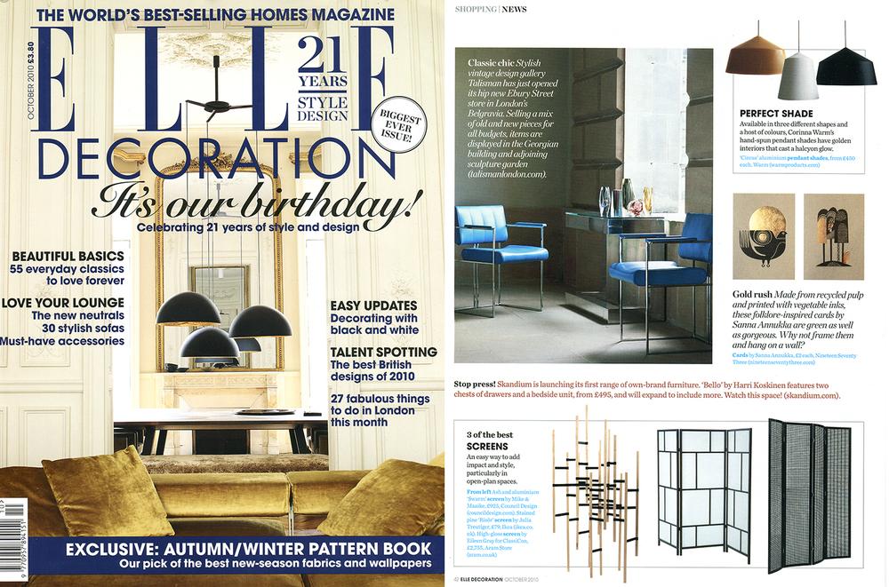 10_10 Press_Studio Warm_Elle Decoration Coverage