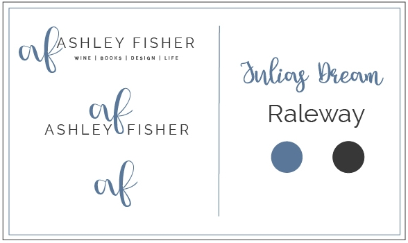 ashley fisher new branding chart