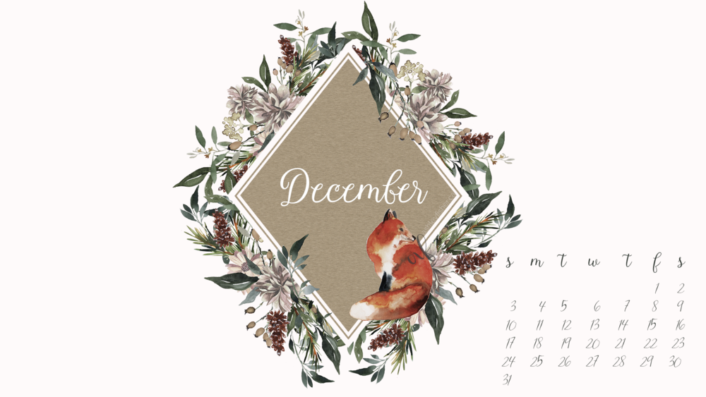 Download the free December desktop calendar  here  (1920x1080)