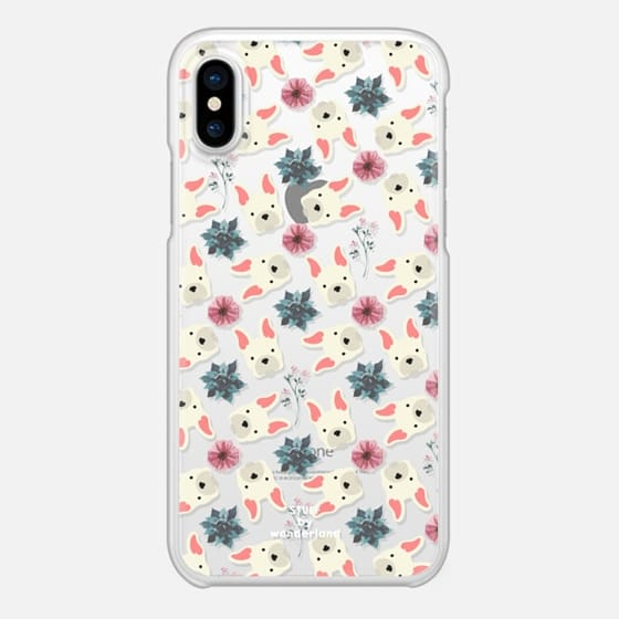 french bulldog flowers phone case by stuffxwonderland for casetify