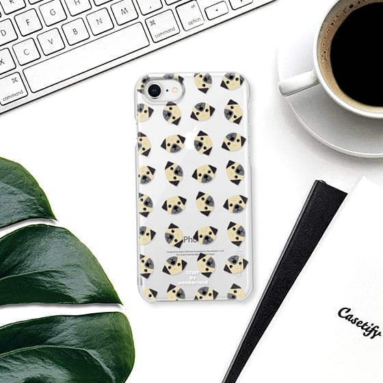 pug iphone case by stuffxwonderland for casetify on ashleyfisher.ca