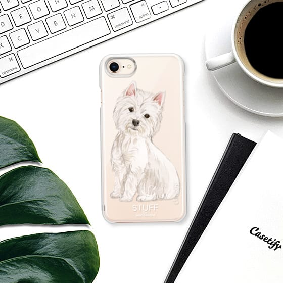 westie watercolor iphone case by stuffxwonderland for casetify on ashleyfisher.ca
