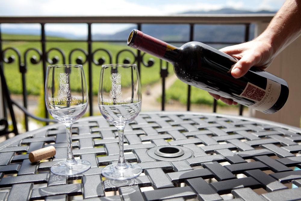 Burrowing Owl winery in Okanagan Valley wine region on ashleyfisher.ca