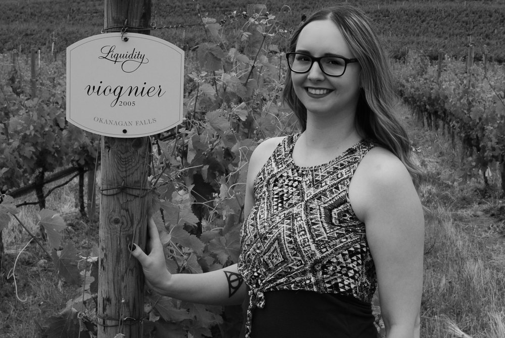 Ashley Fisher at Liquidity Winery