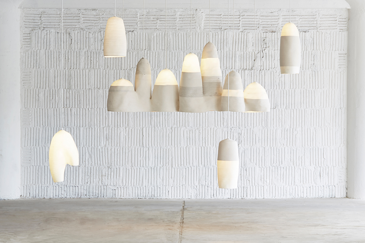 eekie: Light Sculptures made of rope by Doug Johnston. A trained architect doing other things.