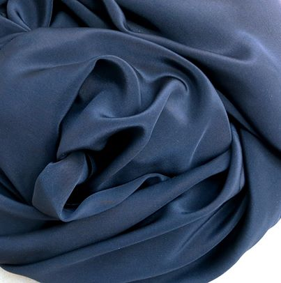 - 100% Silk Crepe de Chine - Light and luxe - This lightweight silk has a soft luster, subtle texture, and drapes beautifully. Known as one of the most durable of the cultivated silks, this versatile fabric works beautifully for easy-to-wear styles.