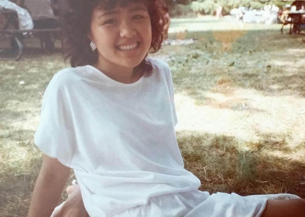 Julia's mom, 80s.