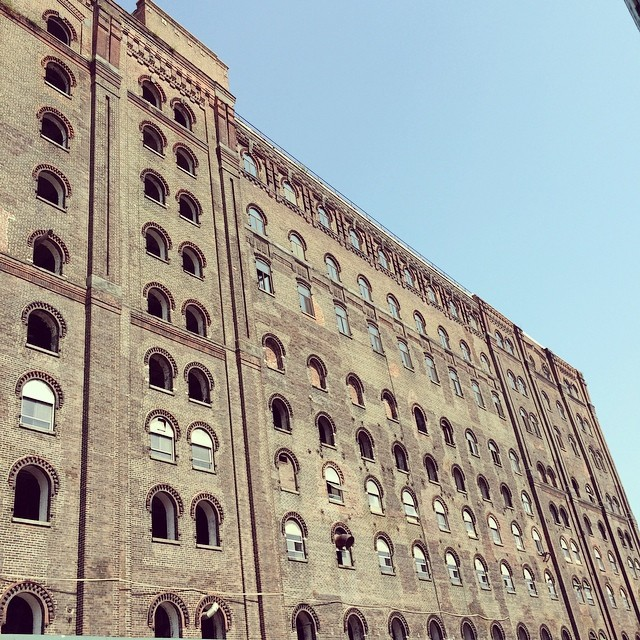 Field Trip Friday: Domino Sugar Factory looking surreal today.