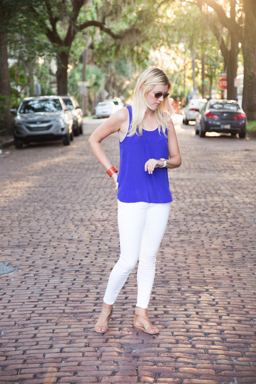 White Pants, Three Ways | Kara Bettie Stylist | Fashion Blogger | Beschell Photography