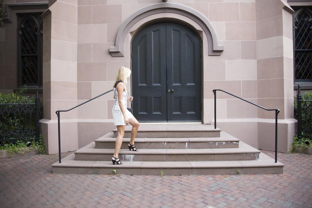 How to Dress Up Shorts | Kara Bettie Stylist | Fashion Blogger | Beschell Photography