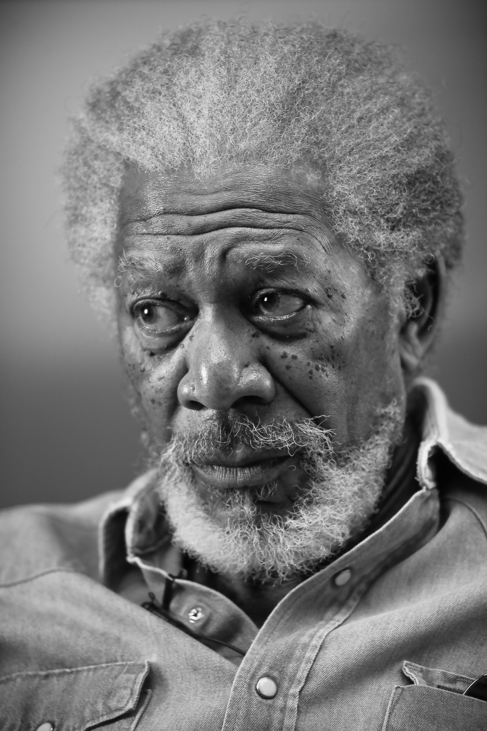 "Morgan Freeman for ""Casting By"""