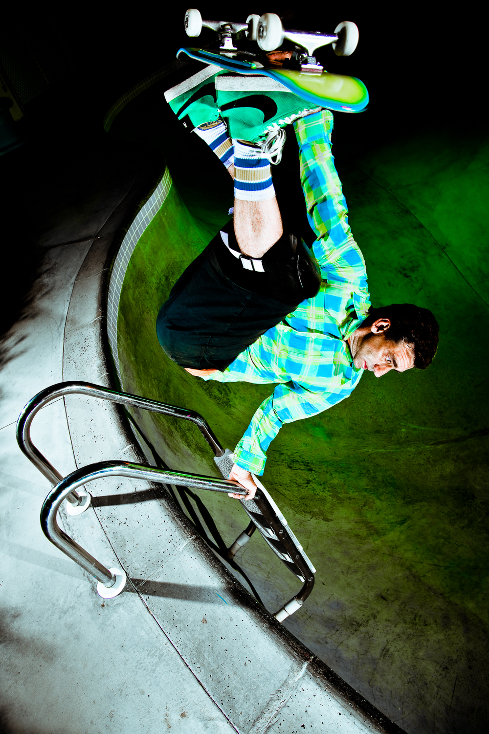 Lance Mountain, Skateboarder Magazine, 2009