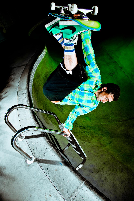 Lance Mountain, Skateboarder Magazine, 2009