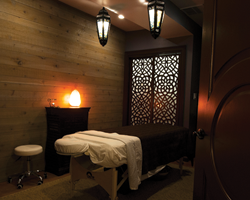 Escape to our spa rooms for complete relaxation
