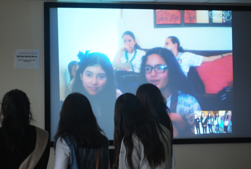 Skyping with Guadalajara