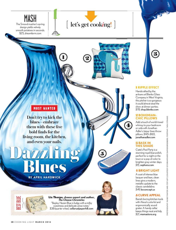 Best Blue Cheeses Cooking Light — Liz Thorpe