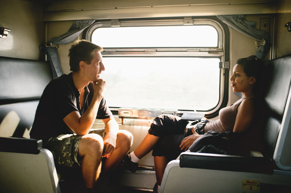 On the left is Curt, a long term traveler from Germany bouncing around SE Asia. On the right is a British girl I (embarrassingly) can't remember the name of, her first time traveling alone.