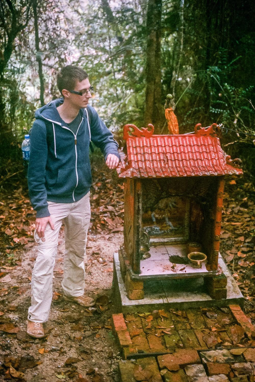 Jungle shrine near Tanah Rata