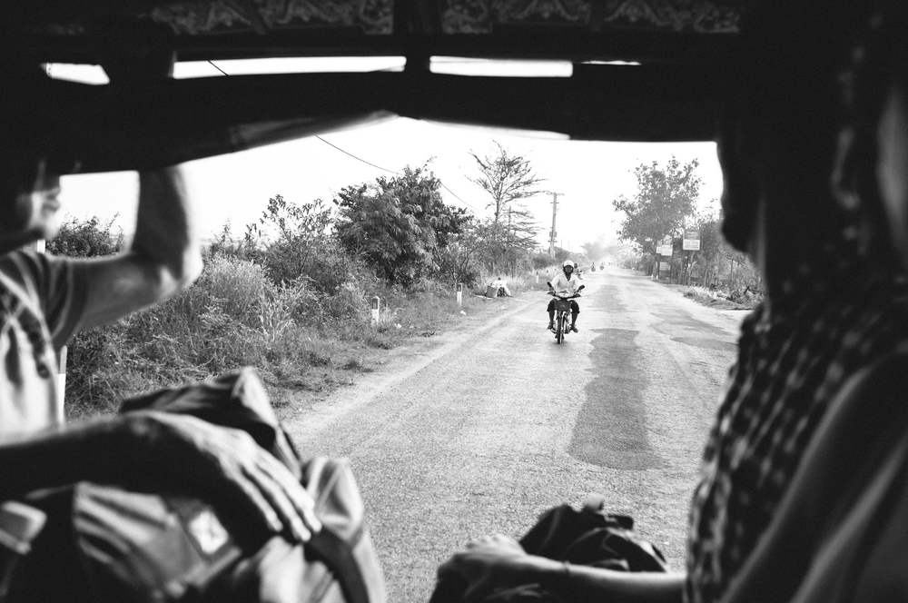 The ride was quite bumpy, but had some nice rural Cambodian scenery.