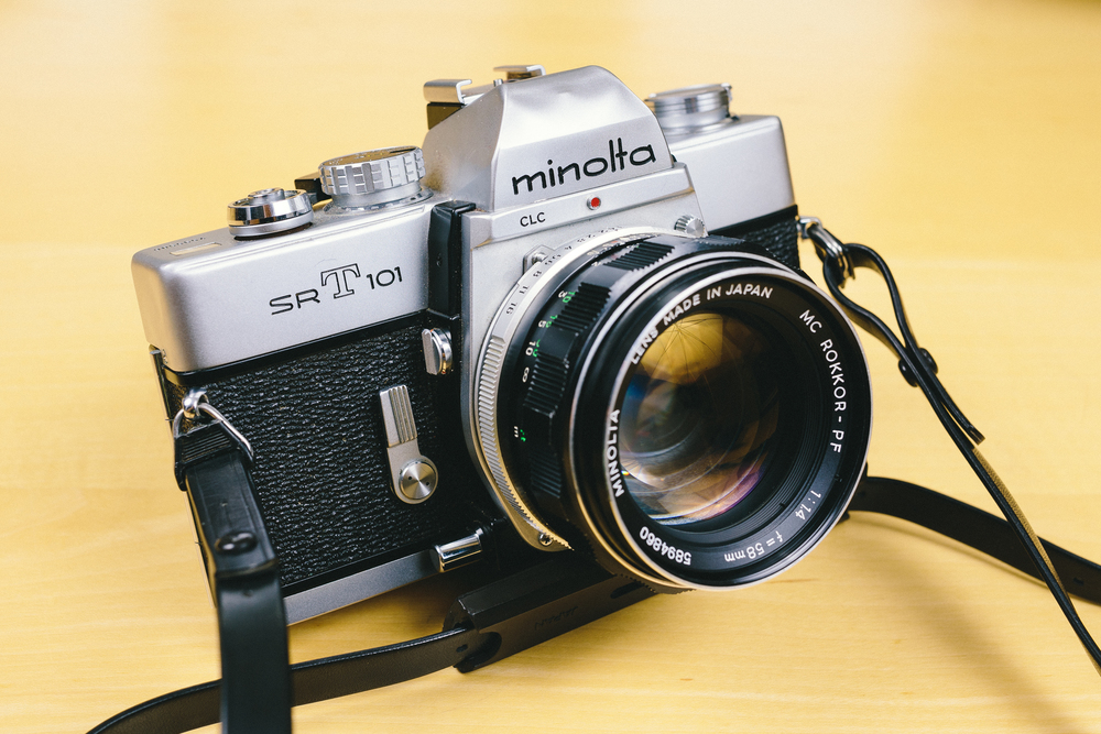 Minolta SRT101 with 58mm F1.4.jpg