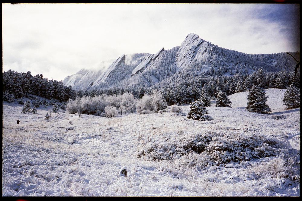 Snowy Flatirons Film 35mm.jpg