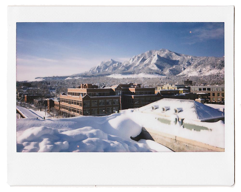 Flatirons + Boulder Instax Snow.jpg