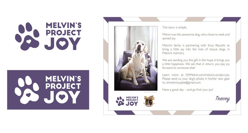 Melvin's Project Joy | Branding