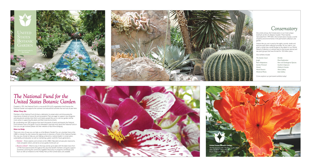 United States Botanical Garden | Brochure