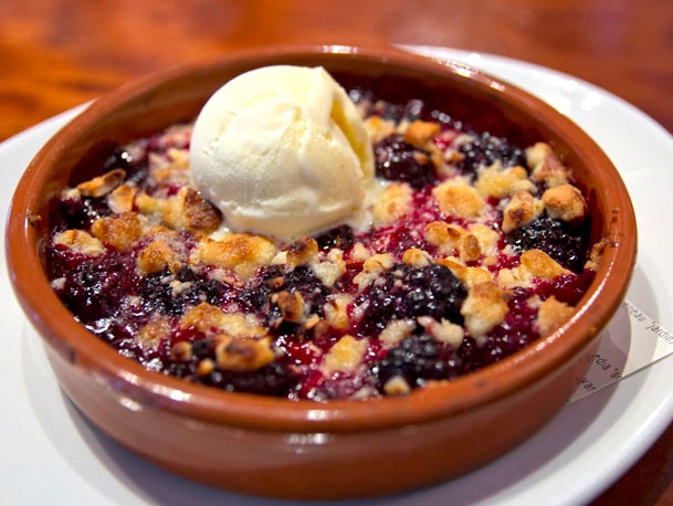 Nopa - Blackberry Crumble
