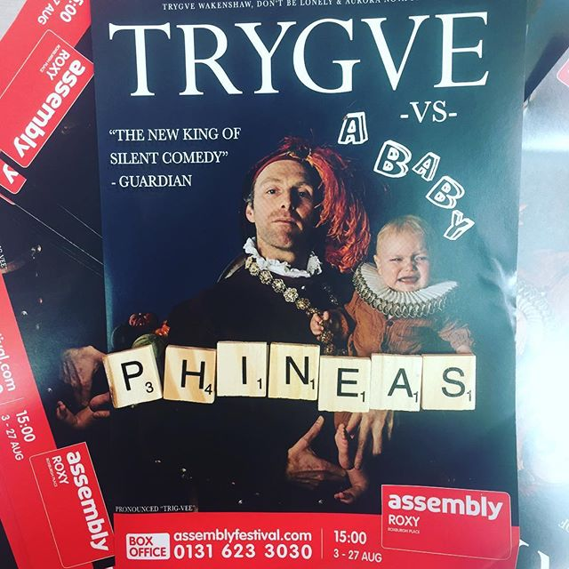 Fact of the day! Trygve is pronounced Trig-Vee and Phineas is spelt P-h-i-n-e-a-s. Unique and beautiful names for an amazing duo! #names #trending #wakenshawfamily #trygvevsababy @edfringe @trygveisthebest
